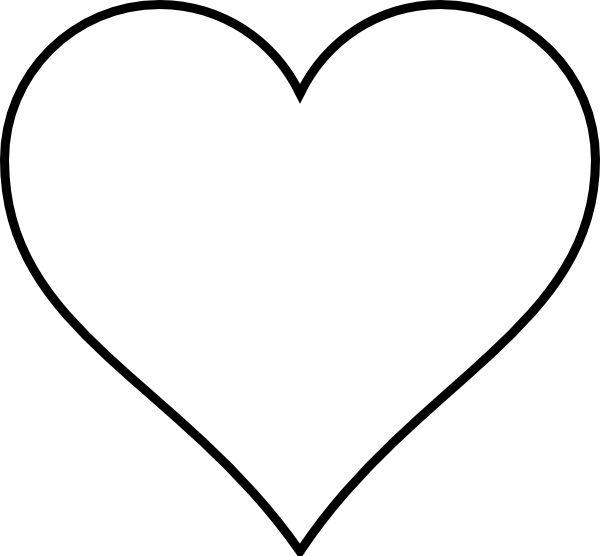 Broken Heart Clipart Black And White