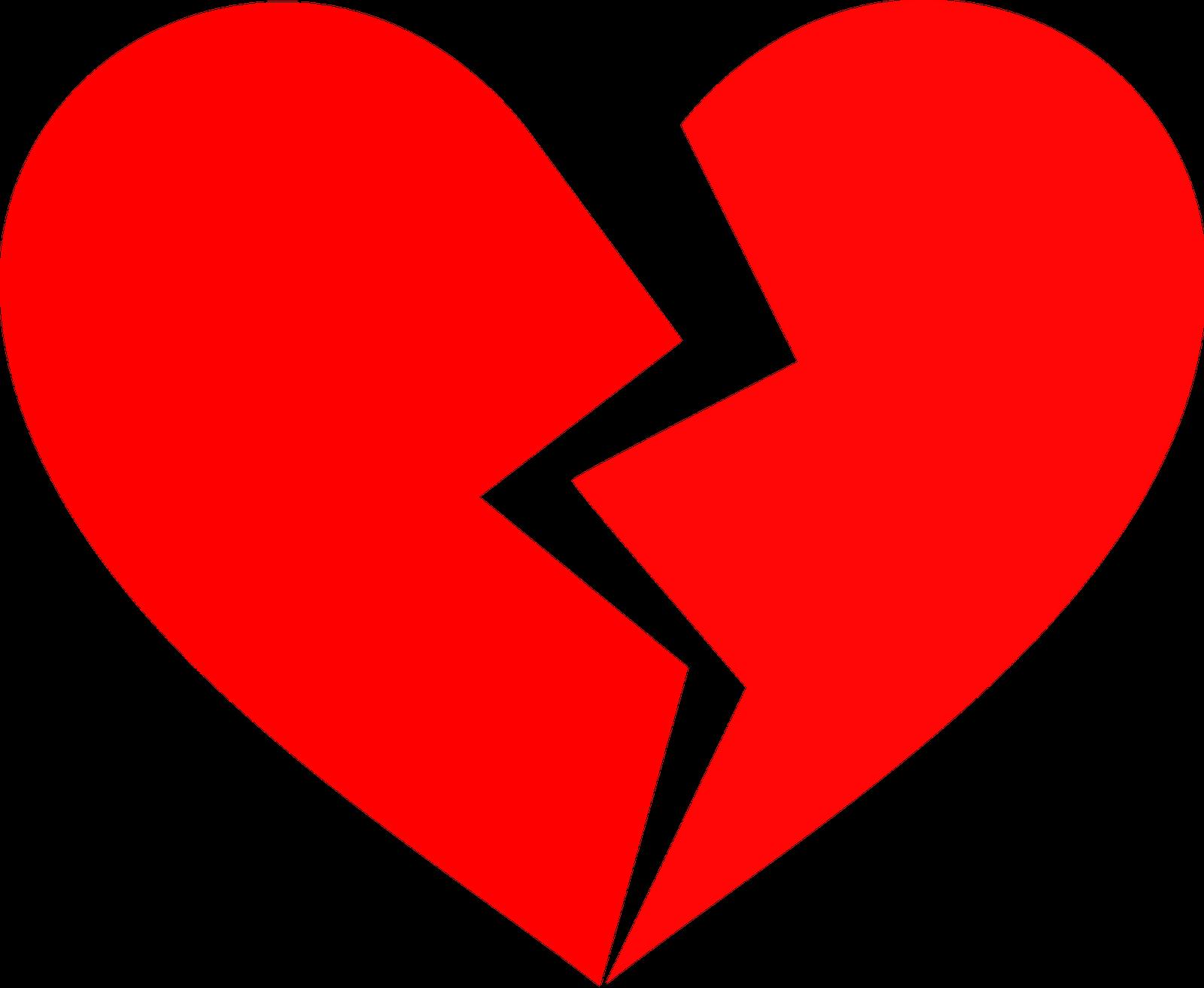 1600x1313 Broken Heart Clipart