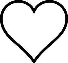 236x219 Free Printable Heart Templates Large, Medium Amp Small Stencils