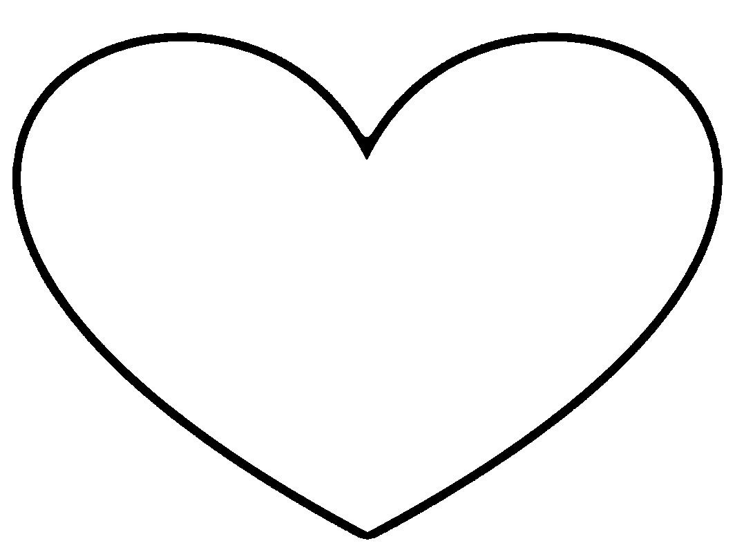 1064x796 Heart Clip Art Tumundografico