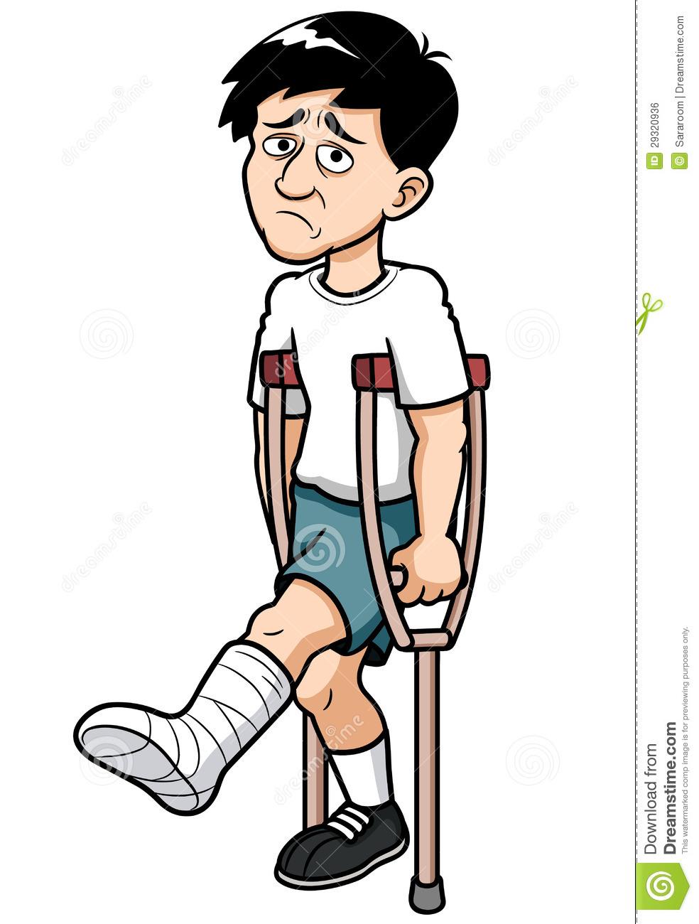 984x1300 Broken Leg Clipart