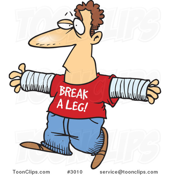 581x600 Break A Leg Clipart