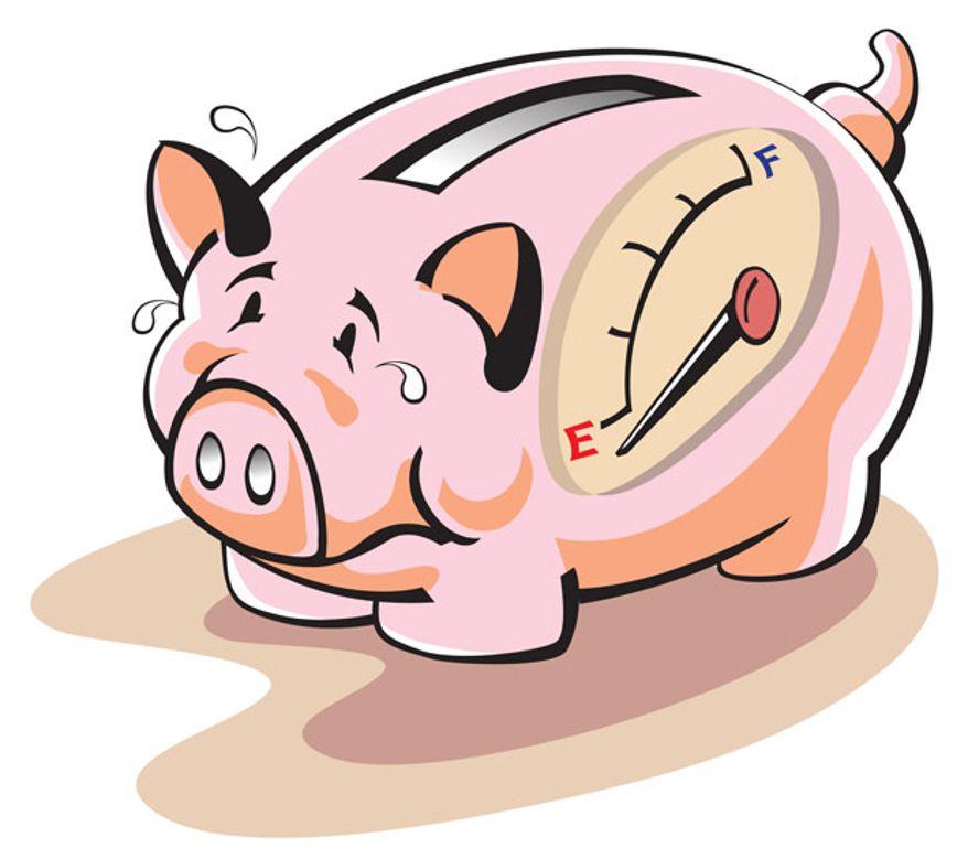878x779 Empty Piggy Bank Clipart