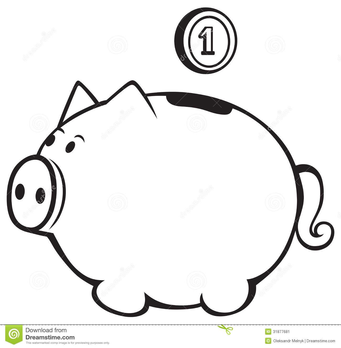 1300x1328 Piggy Bank Clip Art Many Interesting Cliparts