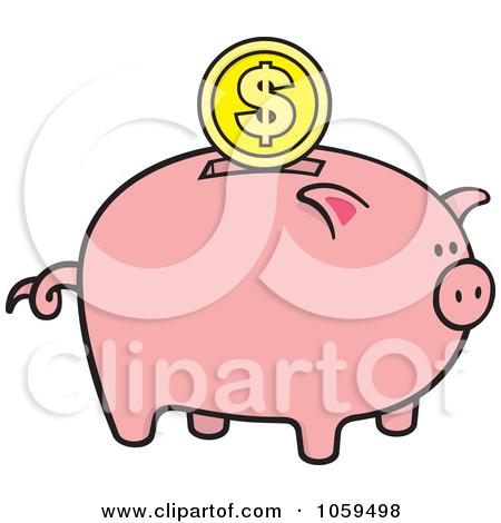 450x470 Piggy Bank Clipart No Background