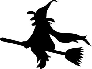 300x224 Witch Silhouette Witch Clip Art Images Wicked Witch Stock Photos