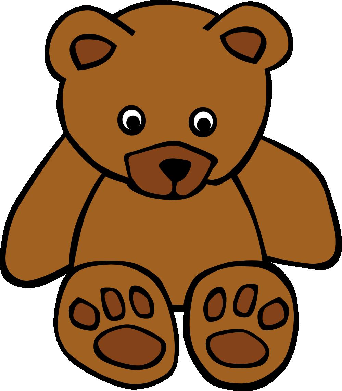 999x1142 Brown Bear Clipart