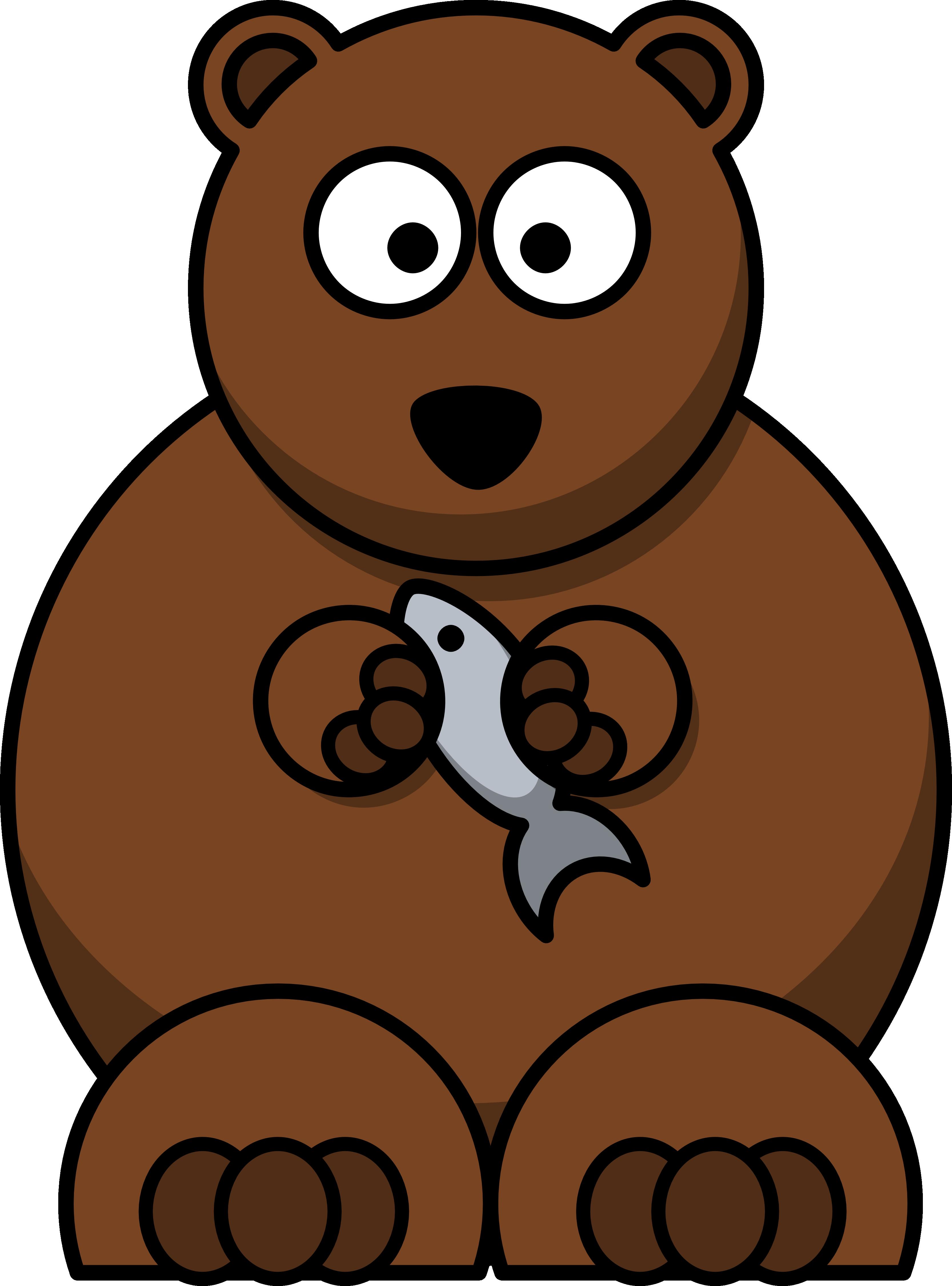 3333x4501 Cartoon Brown Bear