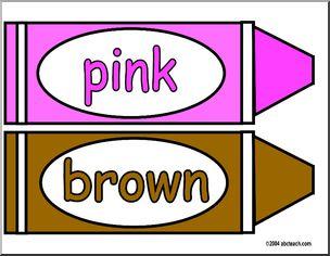 304x236 Brownlor Crayons Clip Art In Addition Brown Crayon Clip Art