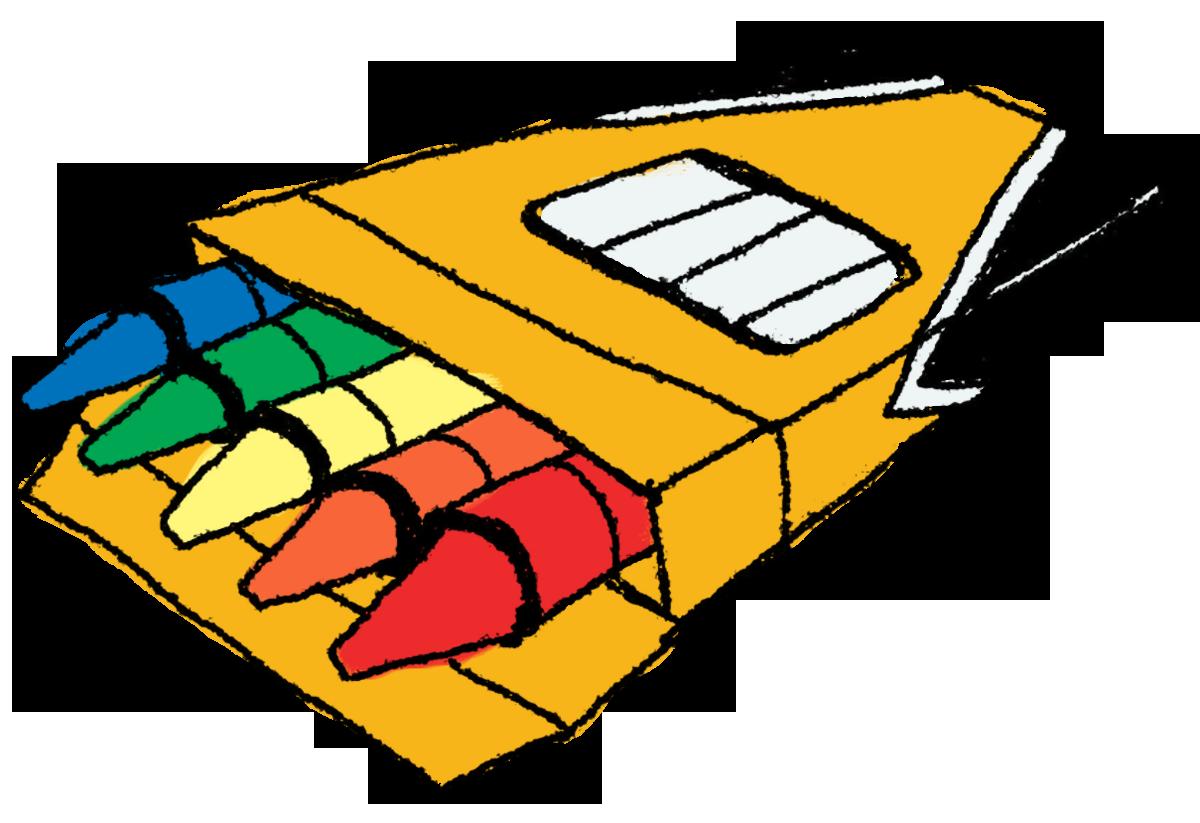 1200x823 Crayon Clipart