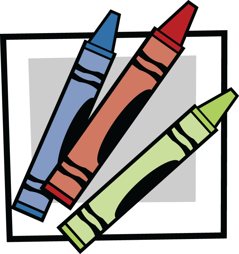 830x882 Crayon Clipart Transparent Background