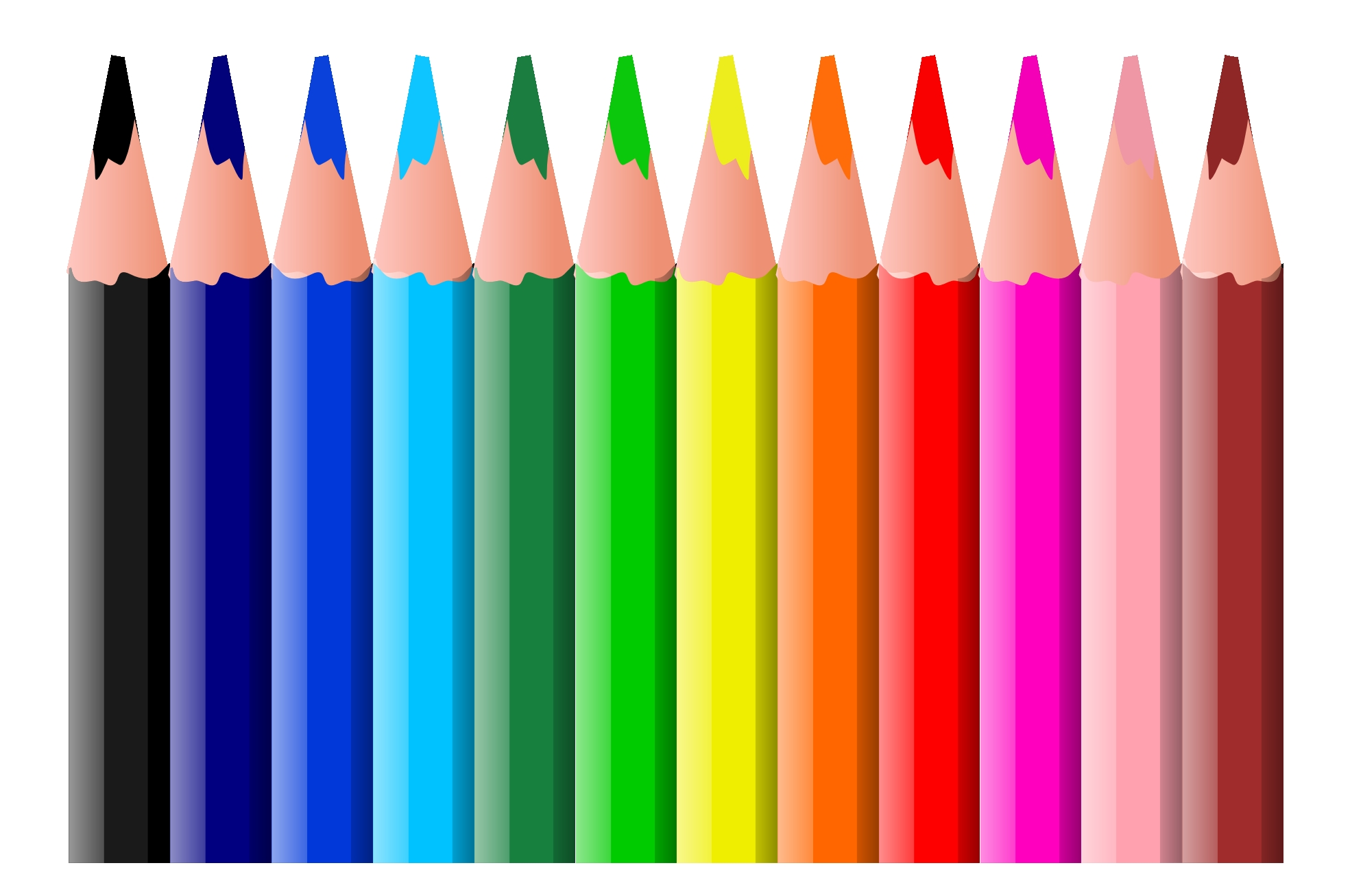 1969x1307 Crayons Clipart Tumundografico
