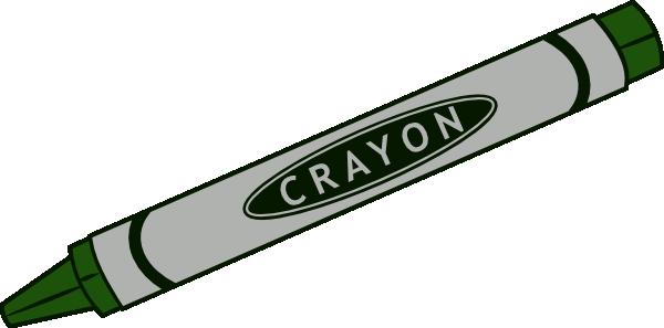 600x297 Green Crayon Clip Art