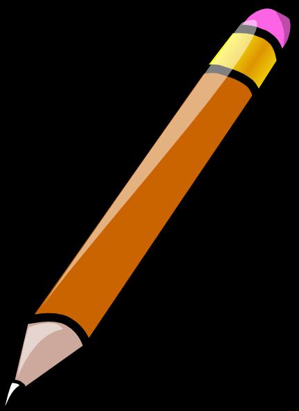 432x593 Pencil 1 Clip Art