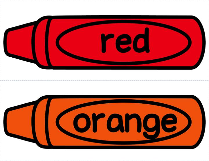 720x556 Red Orange Crayon Clipart