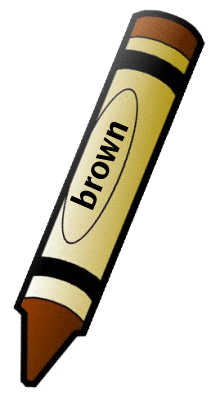 211x400 Brown Crayon Clipart Free Images