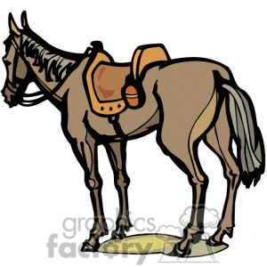 Brown Horse Clipart