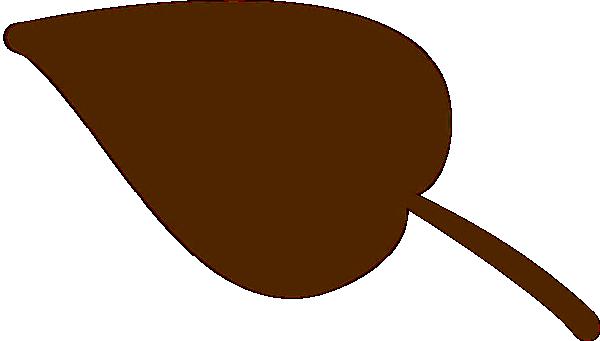 600x341 Brown Leaf Clip Art