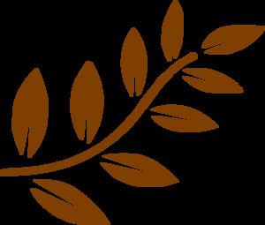 300x255 Brown Leaves Clip Art
