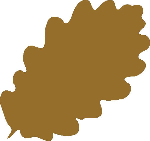 600x566 Light Brown Leaf Png, Svg Clip Art For Web