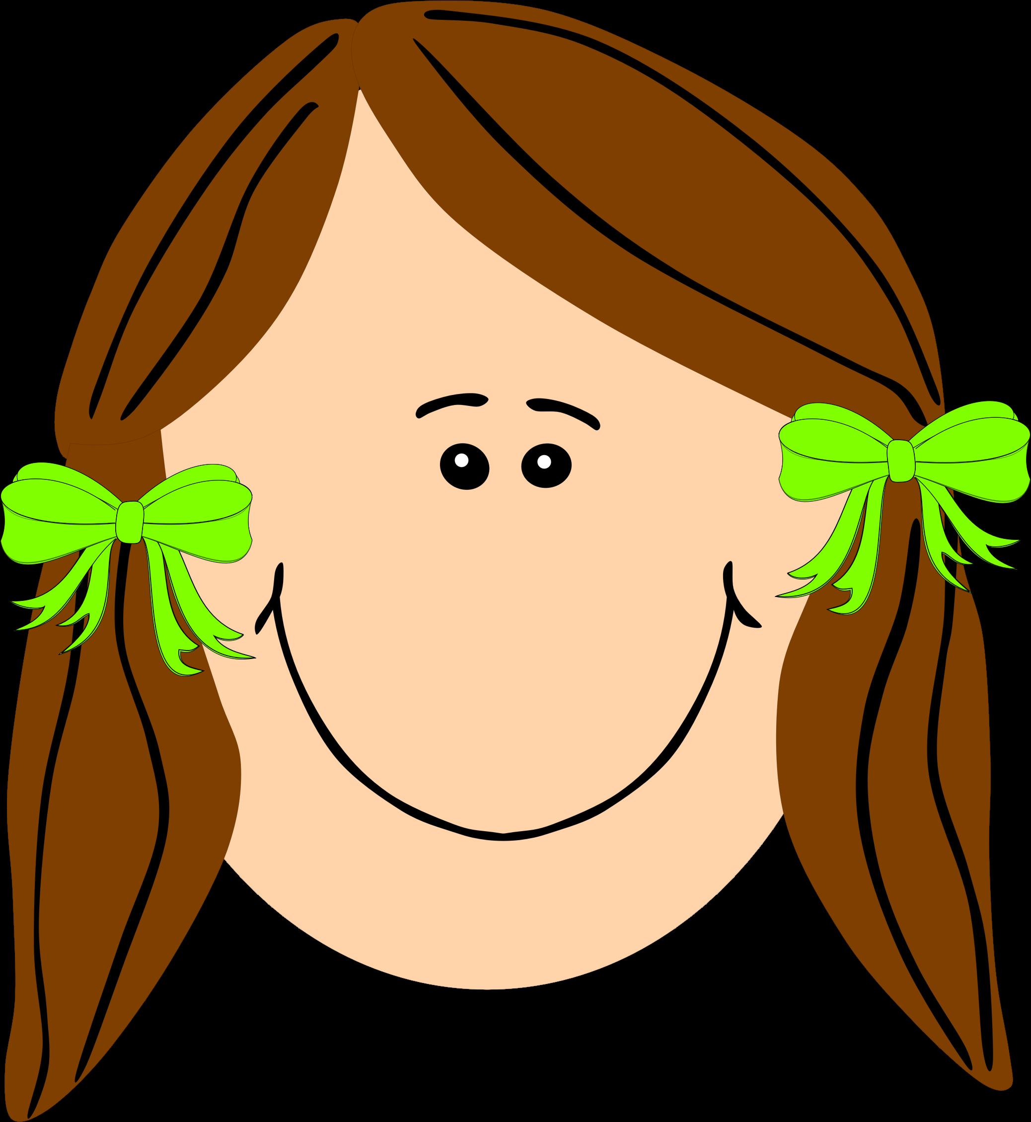 2076x2261 Brown Hair Clipart Long