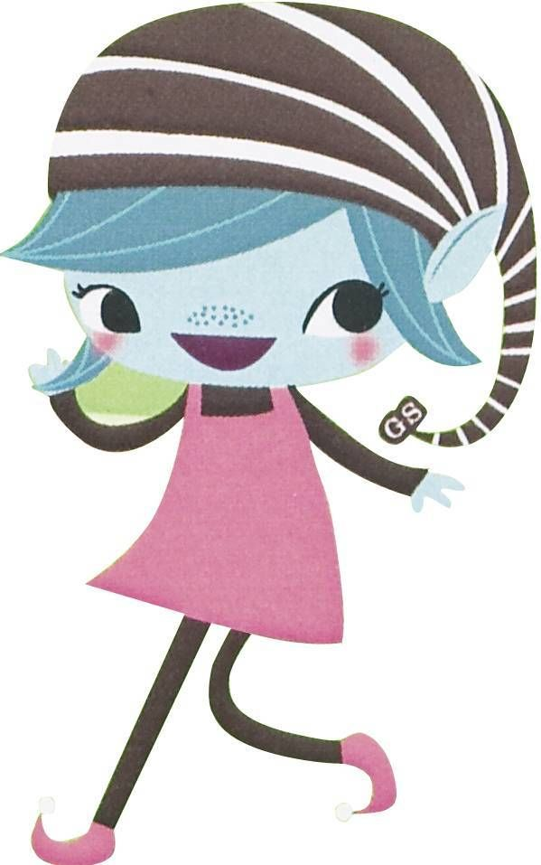 Brownie Girl Scout Clipart