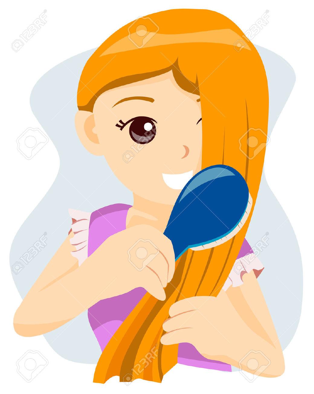 1039x1300 Brush Clipart Hair Clip Art Kid