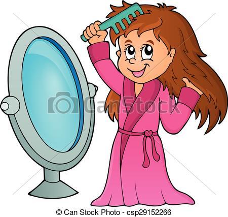 450x427 Hair Clipart Comb