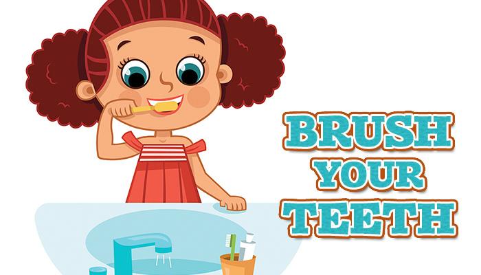 700x400 Brush Your Teeth Mother Goose Nursery Rhyme Song Lyrics