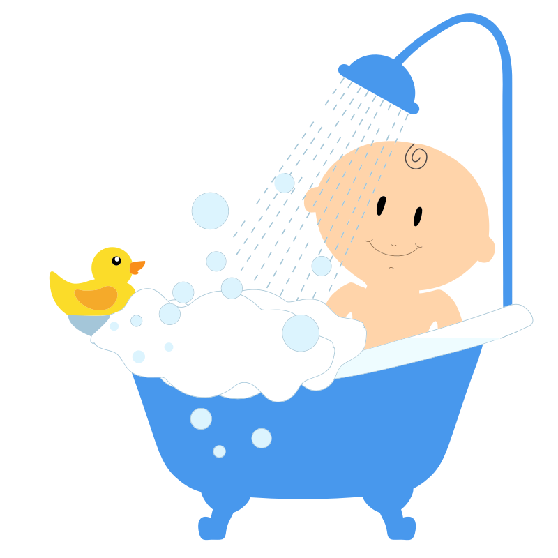 Bath Bubbles Cartoon Free Vector Graphic On Pixabay: Free Download Best Bubble Bath