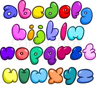 320x285 Comic Bubble Lower Case Alphabet Cartoonyhumorous Vibe