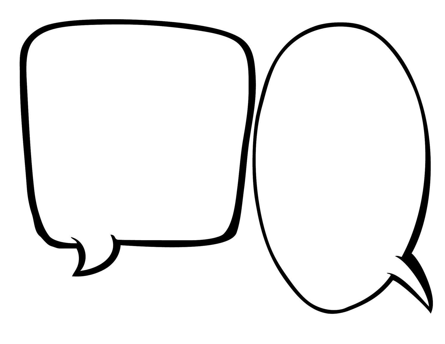 1500x1159 Blank speech bubble clipart 2