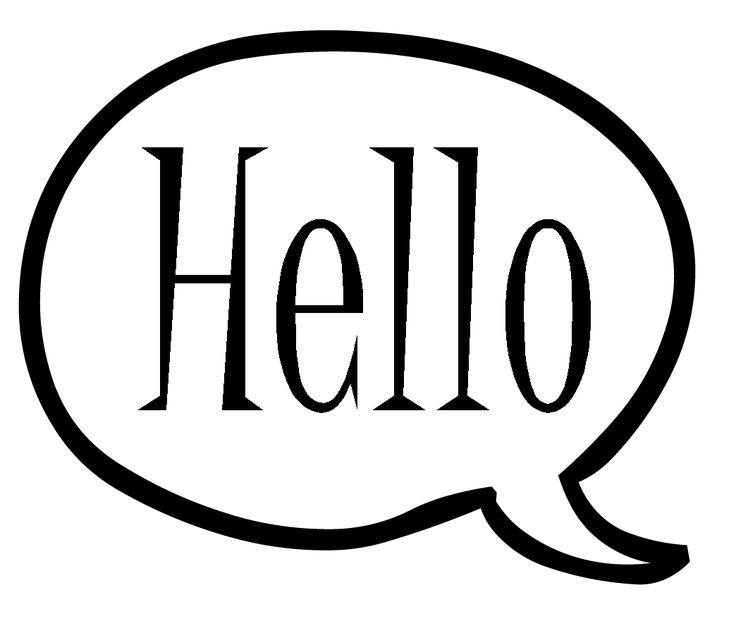 736x621 Hello! clipart speech bubble