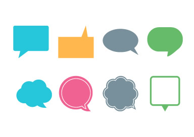 384x272 Speech Bubbles