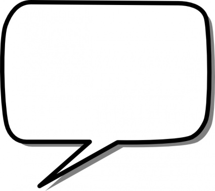425x379 Speech bubbles thought bubble speech clipart 2