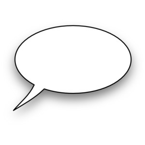300x300 Thought bubble thought and speech bubbles clip art image 2
