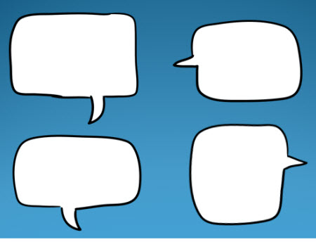450x354 Over 45 Free Speech Bubbles To Make Your E Learning Courses Talk