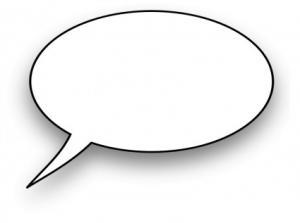 300x223 Speech Clip Art Download