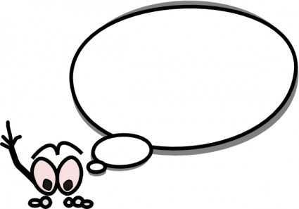 425x297 Thought Bubble Speech Bubble Orange Transparent Stick Clip Art