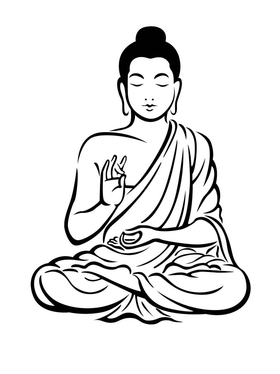 900x1200 buddha clipart lord buddha