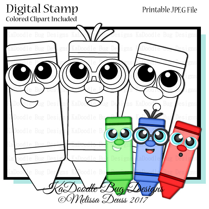 720x720 Digital Stamps Kadoodle Bug Designs, Cut Files, Digi Stamps