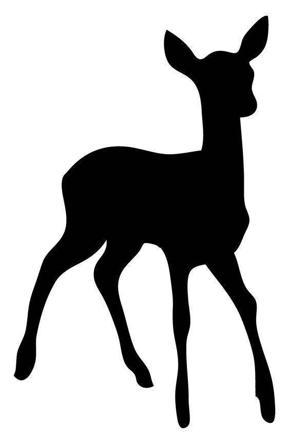 563x864 788 Best Silhouettes Images Craft, Animal Stencil