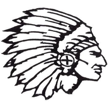350x350 Native American Buffalo Head Clipart Free Silhouette
