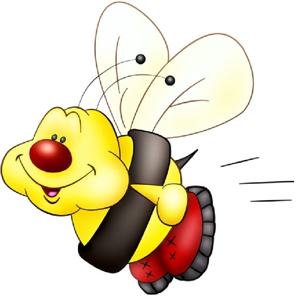 600x600 Bugs Clipart Bee
