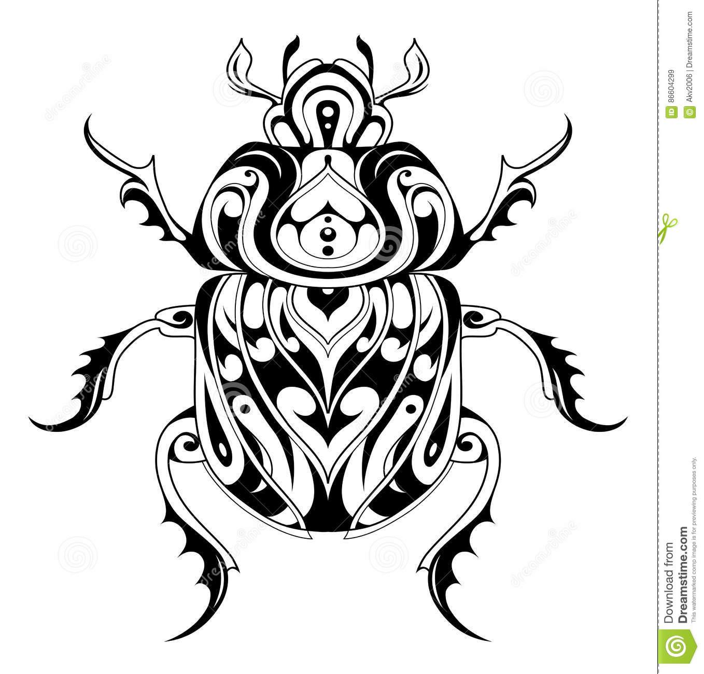 1358x1300 Bug Clipart Tribal
