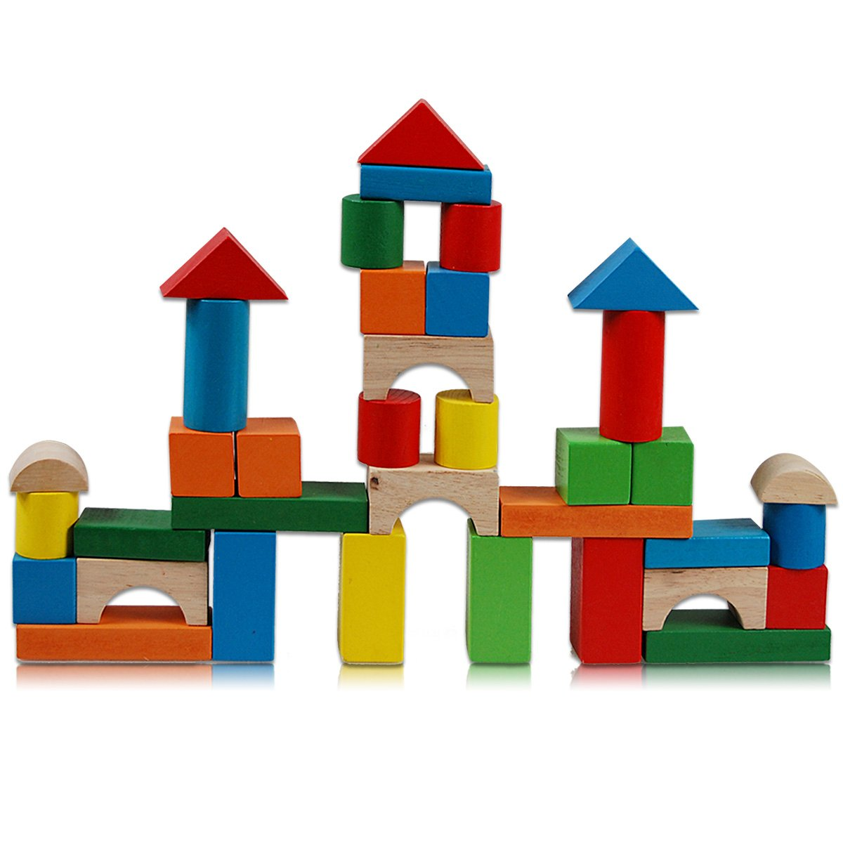 1200x1200 Cartoon Wooden Blocks , Building A House With Wooden Blocks