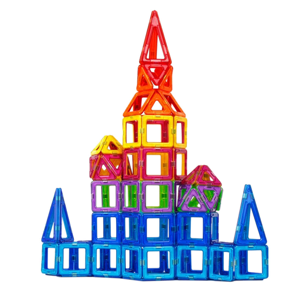 1000x1000 Magnetic Toy 38 Pieces Plastic Building Blocks 3d Blocks Building