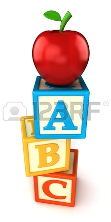 225x450 Alphabet Building Blocks That Spelling The Word Sing Stock Photo