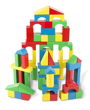 368x450 Melissa Amp Doug Wooden Building Blocks Set