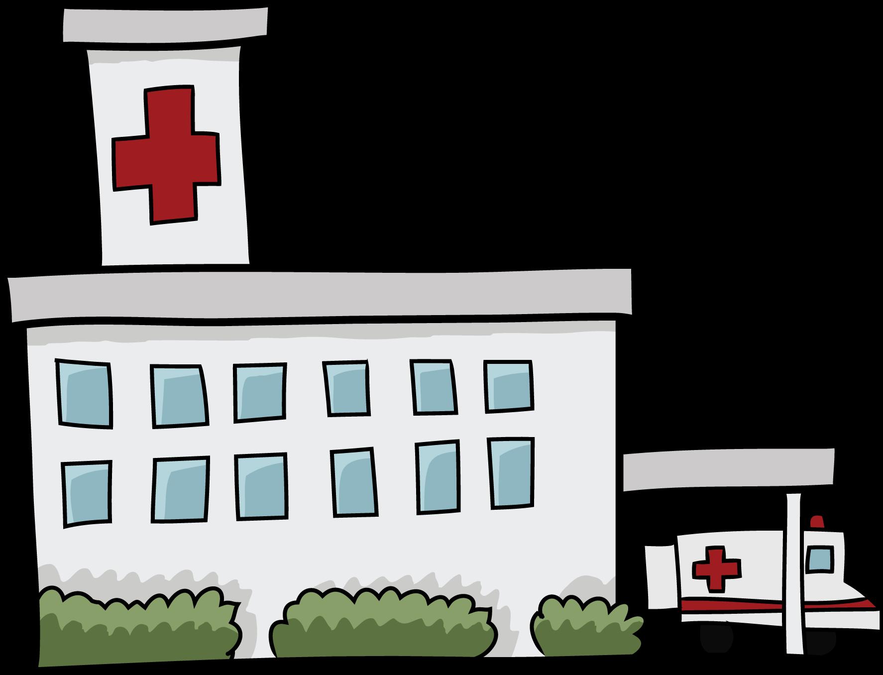 1774x1356 Building Clipart Hospital Building